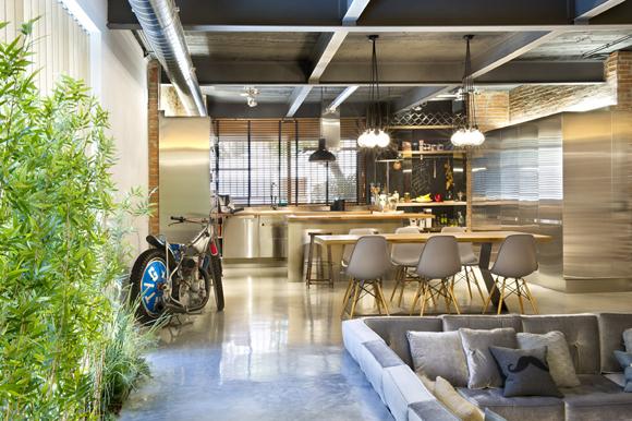 Loft in Terrassa2 - Contemporary Residential Design: Captivating Loft in Barcelona