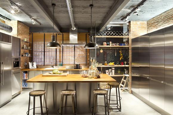 Loft in Terrassa3 - Contemporary Residential Design: Captivating Loft in Barcelona