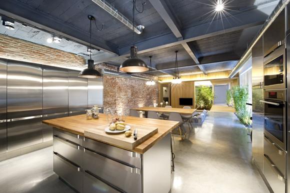 Loft in Terrassa5 - Contemporary Residential Design: Captivating Loft in Barcelona