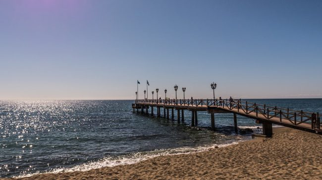 Marbella pier e1485768509261 - The British Costa exodus: loss of 5,000 people in a single year