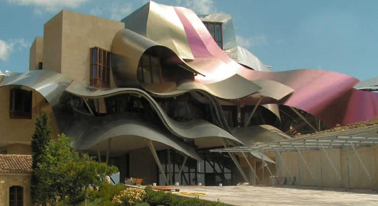 Marques de Riscal1 - The winery of Vinos Herederos del Marques de Riscal