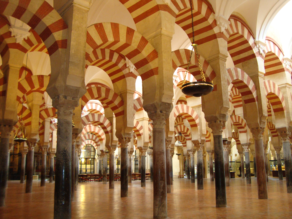 The Interior of Great Mezquita Cordoba