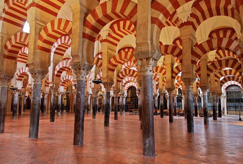 Architecture In Spain The Cathedral Mosque Of Cordoba
