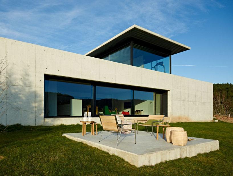Miño river house in Galicia3 - Architecture: Creative Contemporary Home in Galicia, Spain