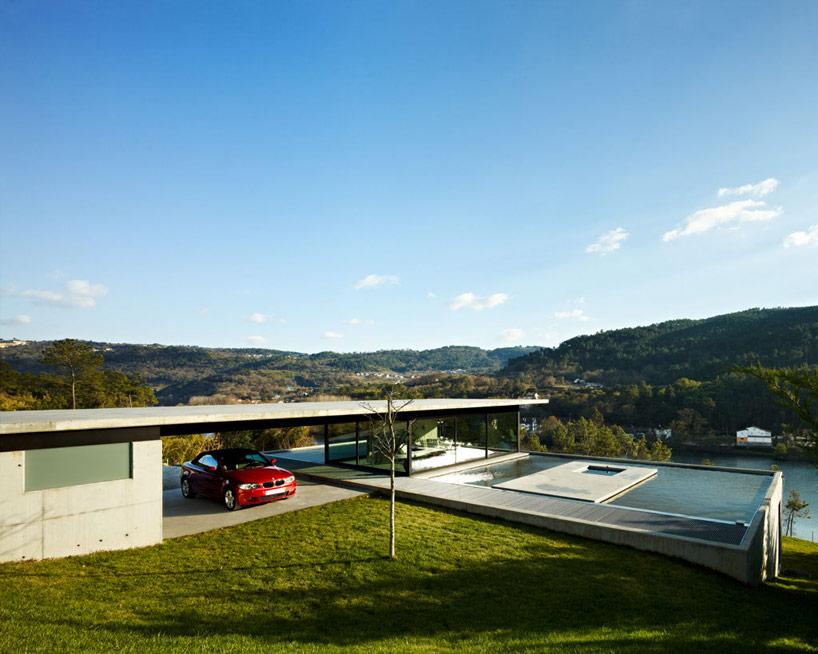 Miño river house in Galicia4 - Architecture: Creative Contemporary Home in Galicia, Spain