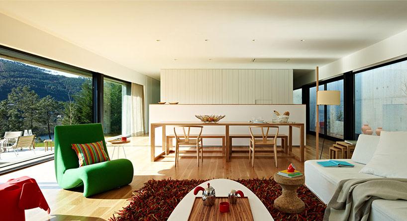 Miño river house in Galicia5 - Architecture: Creative Contemporary Home in Galicia, Spain
