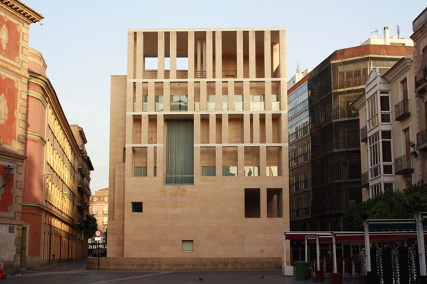 Murcia Town Hall - Contemporary Architecture in Spain: Murcia Town Hall