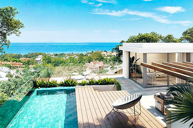 PISCINA ATICO - This luxury apartment in Marbella is a unique opportunity you cannot miss
