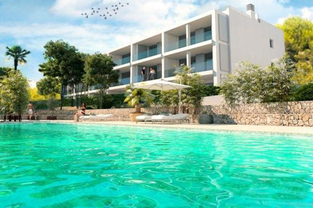 PISCINA IBIZA 2 - If you are looking for sea views, you'll love this luxury apartment in Ibiza