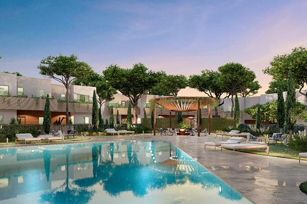 PISCINA - Enjoy nature and the sea in this luxury villa in Benalmádena (Málaga)