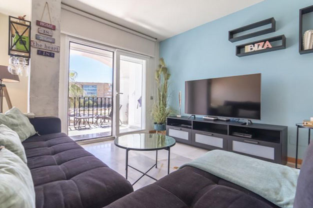 PRINCIPAL IBIZA 1 - You won't be able to resist this flat for sale in Ibiza: ideally located and with a terrace and pool
