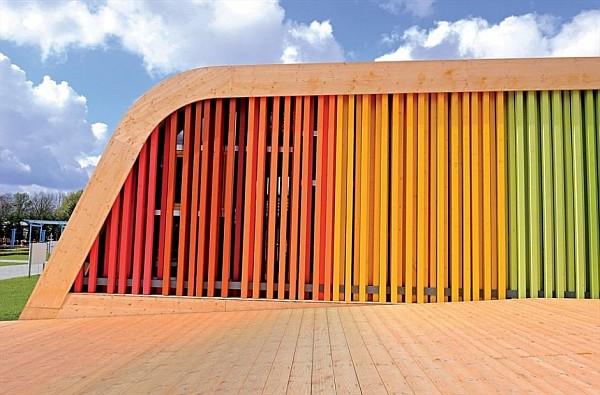 Pavilion Design Plans - Spanish Pavilion at Floriade 2012
