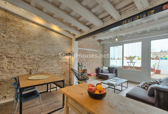 Penthouse for sale in Barcelona