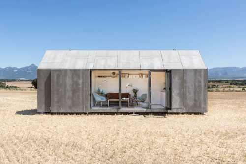 Portable house - Spanish Architecture: Portable House by Ábaton Architects