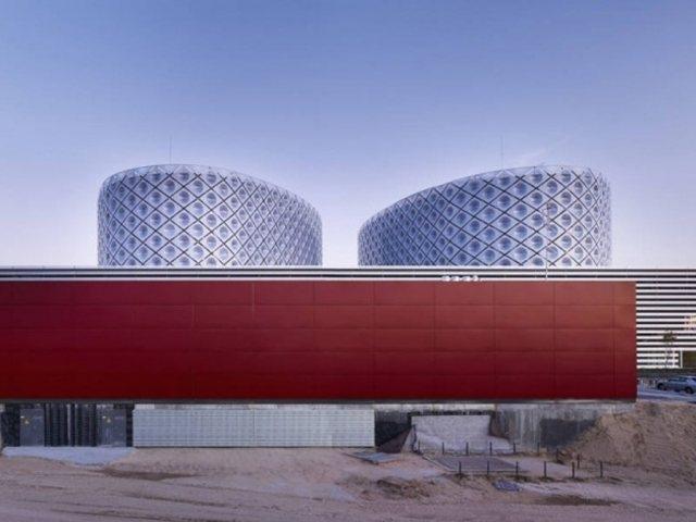 Rey Juan Carlos Hospital1 - Rey Juan Carlos Hospital in Madrid, by Architect Rafael De La-Hoz