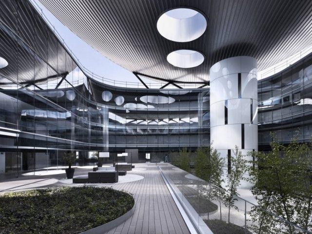Rey Juan Carlos Hospital3 - Rey Juan Carlos Hospital in Madrid, by Architect Rafael De La-Hoz