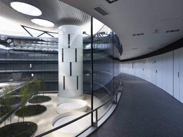 Rey Juan Carlos Hospital4 - Rey Juan Carlos Hospital in Madrid, by Architect Rafael De La-Hoz