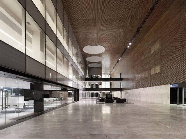 Rey Juan Carlos Hospital6 - Rey Juan Carlos Hospital in Madrid, by Architect Rafael De La-Hoz