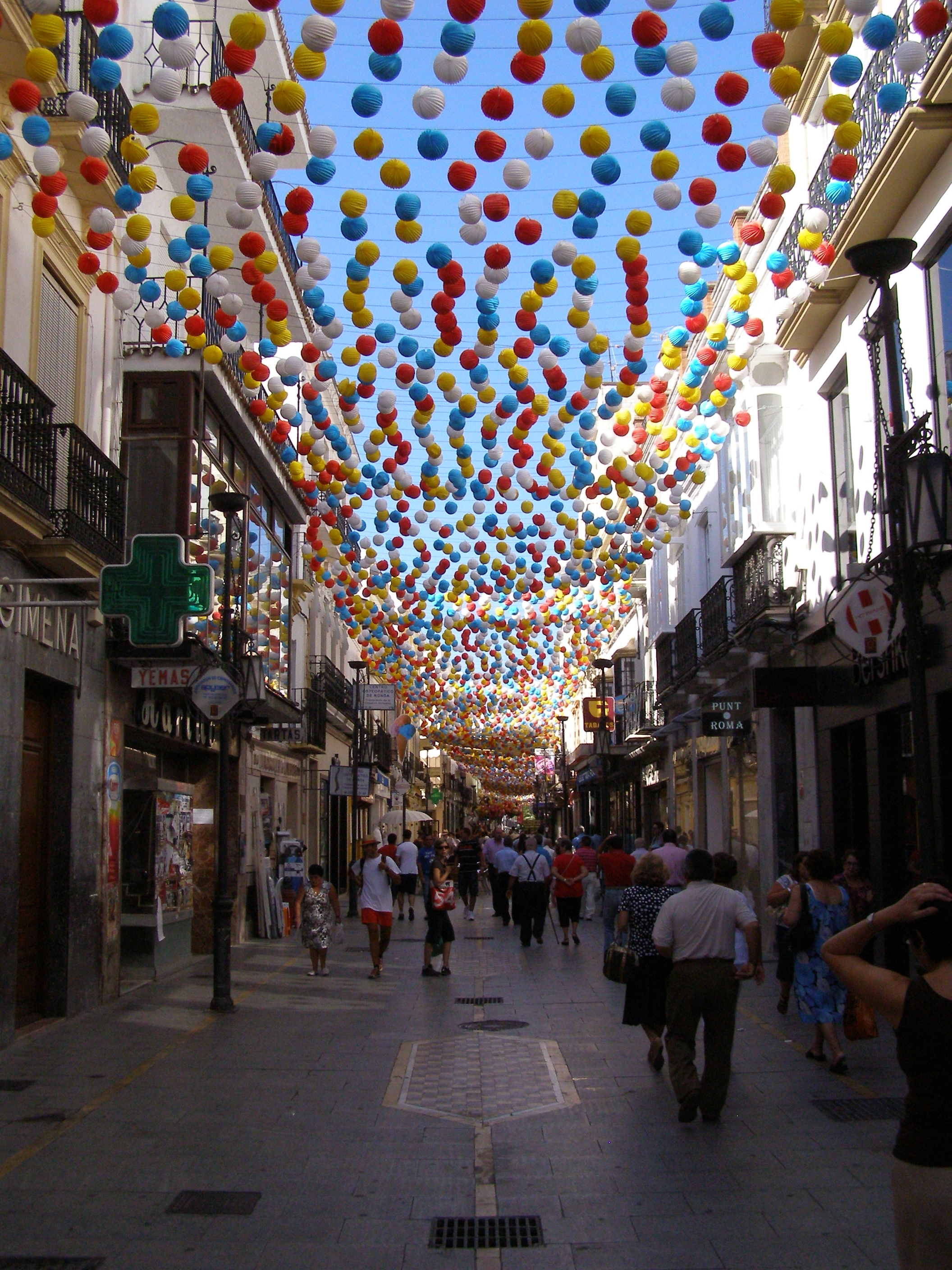 Ronda fiesta 1 - The best feasts to visit Andalusia in Summer 2018