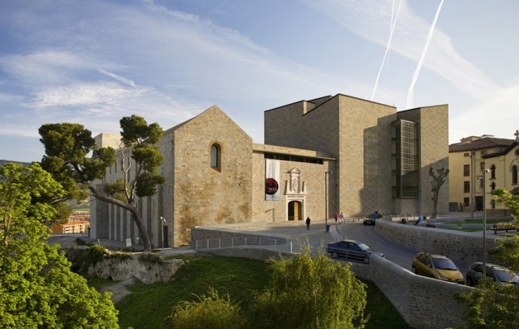 Royal and General Archive of Navarra e1412756656655 - Architecture: Royal and General Archive of Navarra
