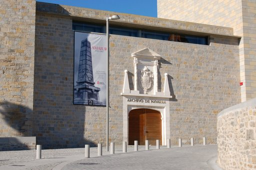 Royal and General Archive of Navarra3 - Architecture: Royal and General Archive of Navarra