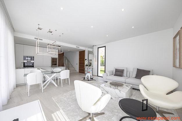 SALON COCINA CASA PISCINA ALICANTE - Discover this spectacular house with a pool in Alicante