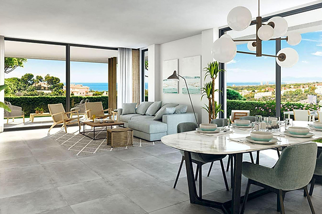 SALON COMEDOR MARBELLA - This luxury apartment in Marbella is a unique opportunity you cannot miss