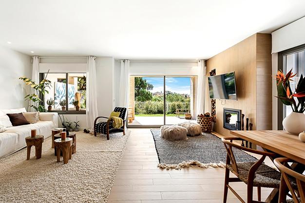 SALON COMEDOR - Enjoy nature and the sea in this luxury villa in Benalmádena (Málaga)