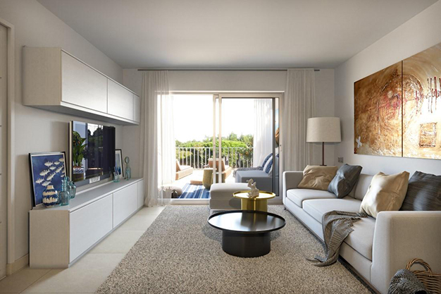 SALON MALLORCA 1 - Great Opportunity: an Exclusive Flat in Mallorca Only 500 Metres Away from the Beach