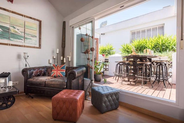SALON TERRAZA - Discover this penthouse with terrace in the centre of Malaga