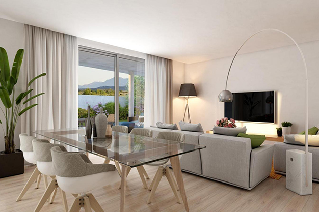 Salon comedor malaga - This luxury flat in Malaga will captivate you for its modern and attractive design