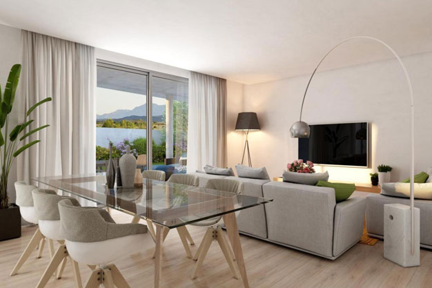 Salon - Luxury homes in Málaga close to the coast and golf courses