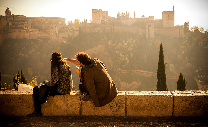 San Nicolas Granada alhambra a - The most romantic Spanish destinations for your Valentine's trip