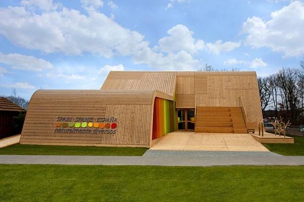 Spanish Pavilion Architecture - Spanish Pavilion at Floriade 2012