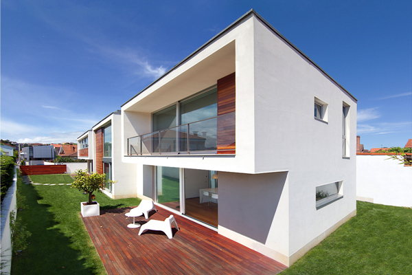 Terrace View1 - Modern design in a private house in Northern Spain