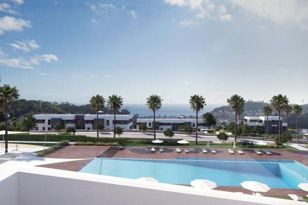 Terraza - Luxury homes in Málaga close to the coast and golf courses