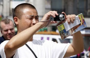 The increase in Chinese Tourism