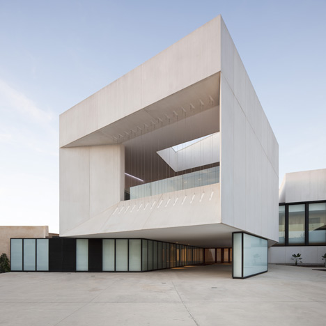 Theatre in Almonte - Theatre in Almonte, Huelva, by Donaire Arquitectos