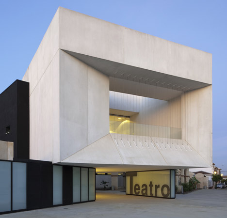 Theatre in Almonte2 - Theatre in Almonte, Huelva, by Donaire Arquitectos