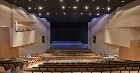 Theatre in Almonte5 - Theatre in Almonte, Huelva, by Donaire Arquitectos