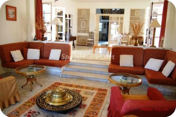Villa en alquiler de vacaciones en Salobreña o - Vacations in Salobreña: A Moorish villa overlooking the Mediterranean Sea