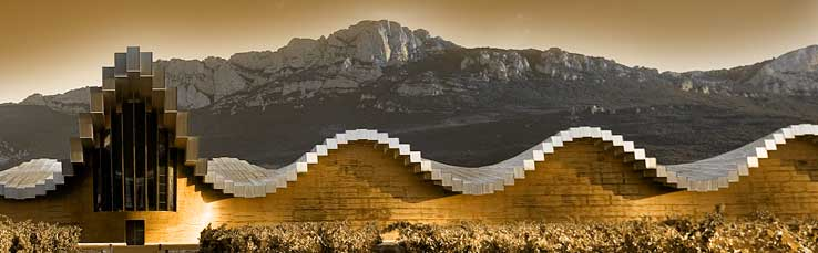 Ysios Winery in La Rioja - Contemporary Architecture: Ysios Winery in the Rioja Alavesa, Spain