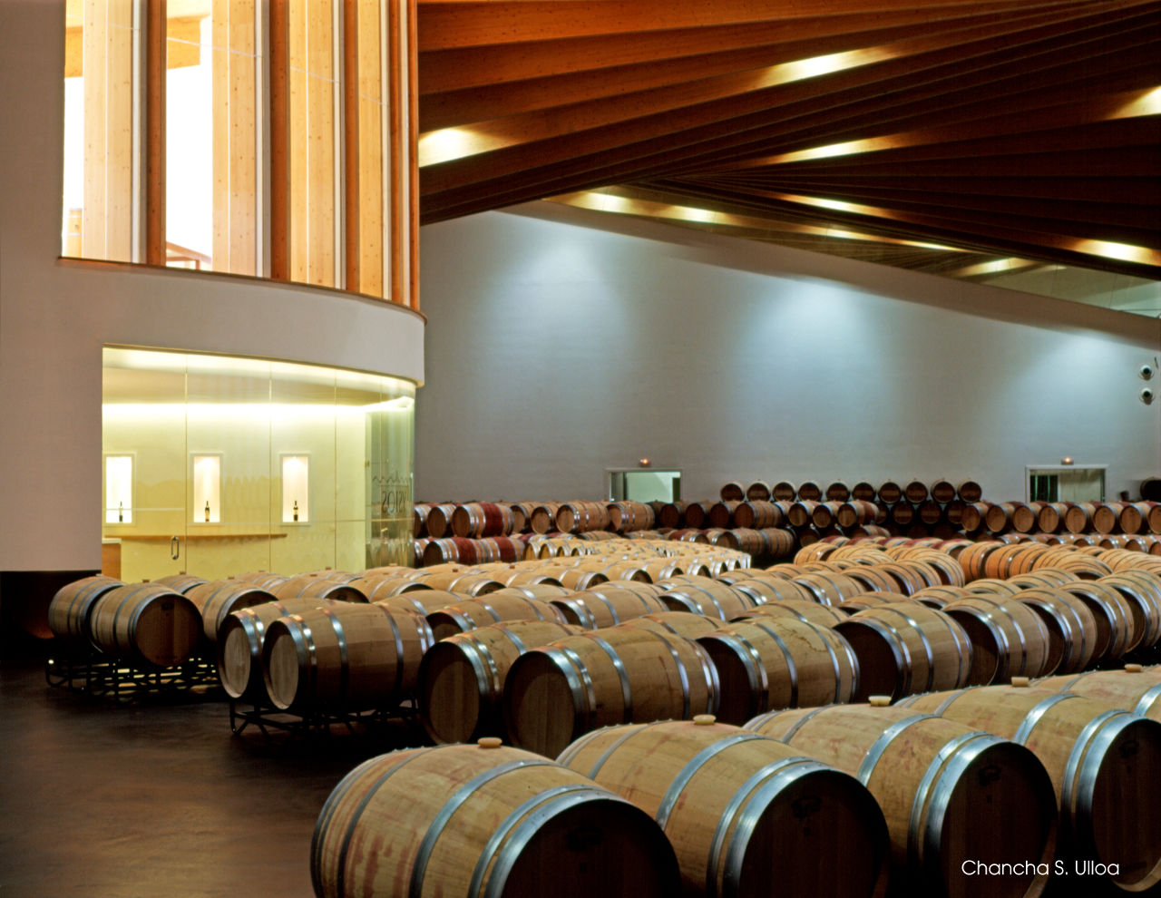 Ysios Winery in La Rioja4 - Contemporary Architecture: Ysios Winery in the Rioja Alavesa, Spain