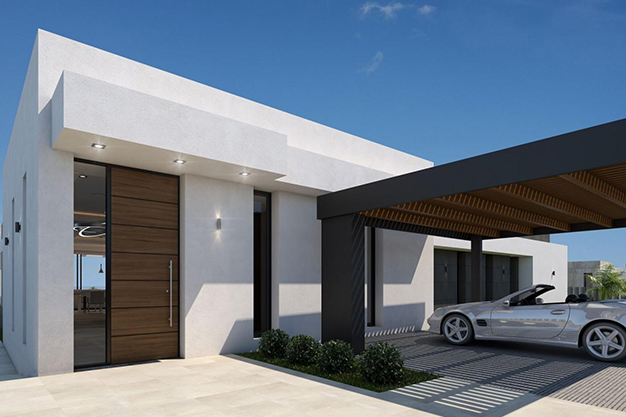 aparcamiento - For Sale One of the Most Spectacular Villas in Alicante with Incredible Sea Views