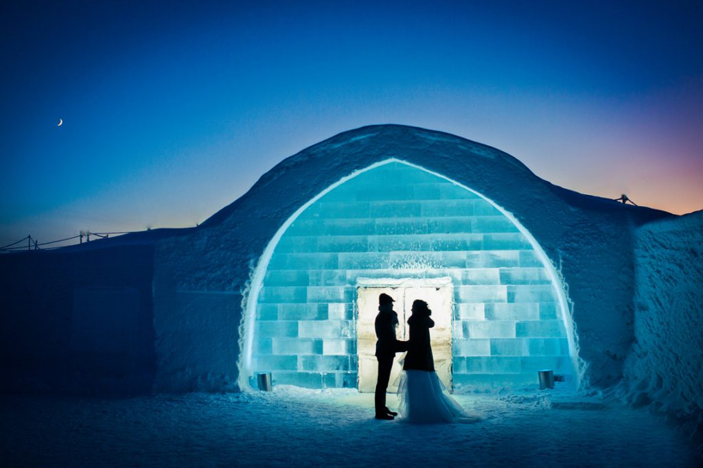 arctic winter wedding icehotel 1140x759 1024x682 - The best ice hotels for true winter lovers
