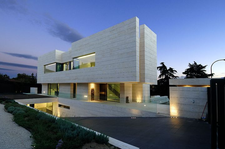 artchitectural house in Madrid2