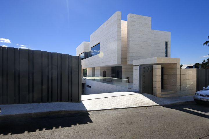 artchitectural house in Madrid4