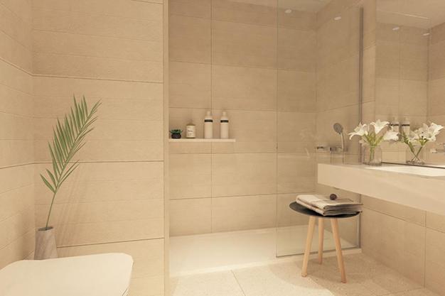 baño 1 1 - Modern beachfront apartment in Málaga