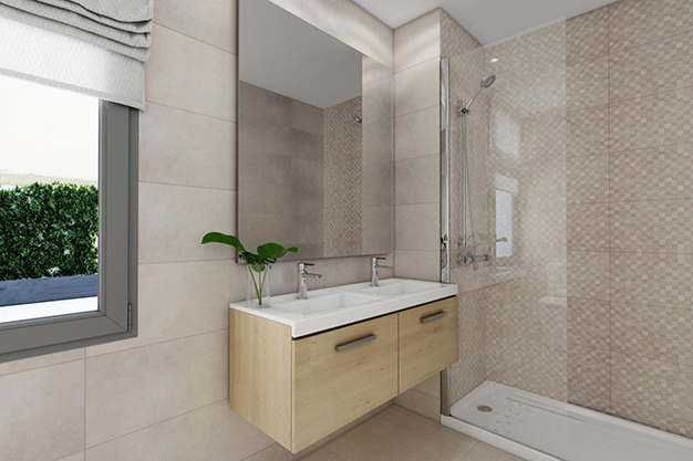 bano malaga - This luxury flat in Malaga will captivate you for its modern and attractive design