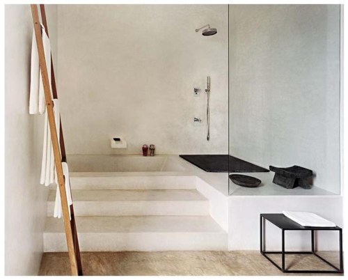 Is It A Spa Or Bathroom This Kind Of Greek Design Isnt As Expensive Doing Seems Simple But Modern Calls For Relaxation And Peace